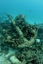 Anchor at Kure Atoll.  Photo by Jim Watt.