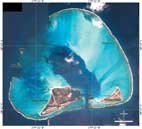 IKONOS Satellite image of Midway Atoll. Click for larger image.